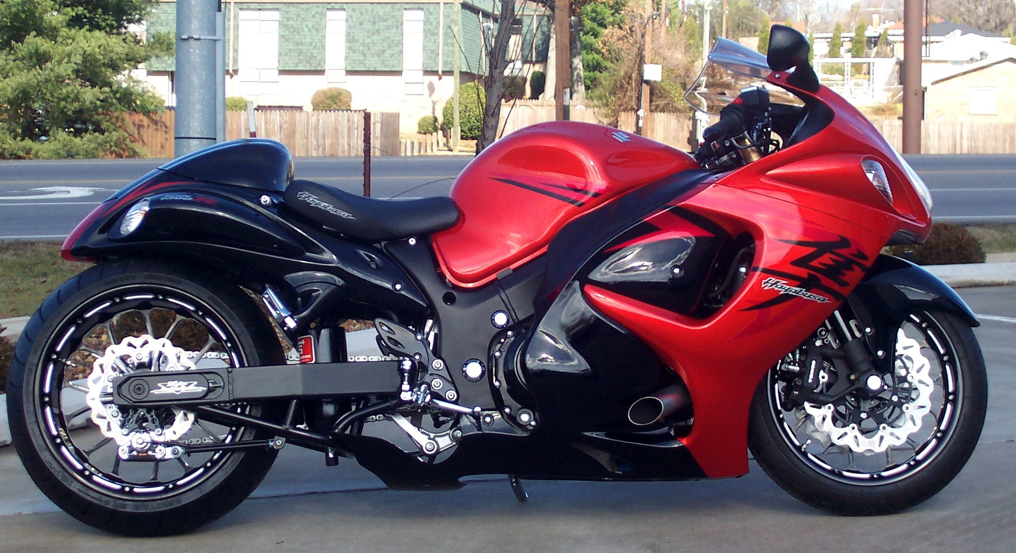 M/T Performance built 2008 Hayabusa  240 Wide Tire Kit - Velocity Turbo System.
